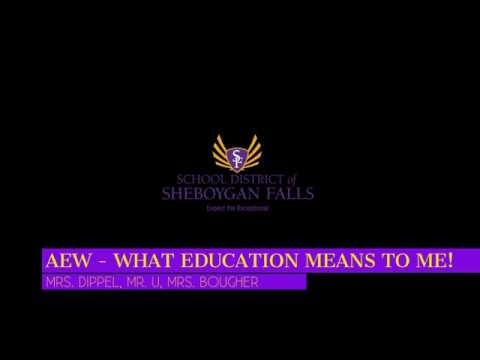 AEW - What Education Means To Me! #2