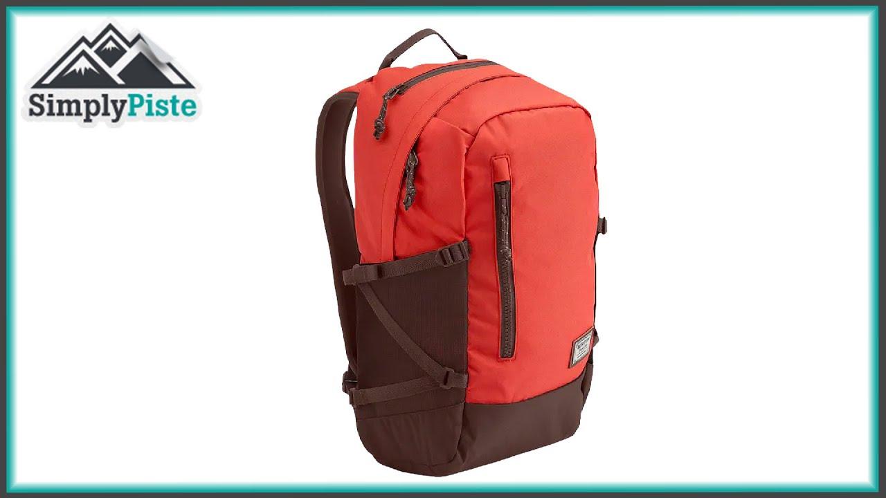 Burton Prospect Pack - Red Rock - www.simplypiste.com - YouTube f5af3910043fd