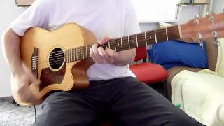 Bonnie Tyler - Total Eclipse Of The Heart - acoustic guitar cover by onlyfavoritemusic