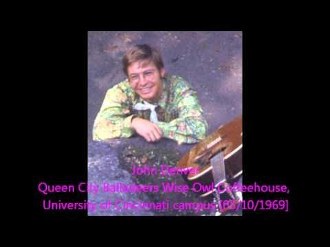 John Denver / Wise Owl Coffeehouse, University of Cincinnati campus [05/10/1969]