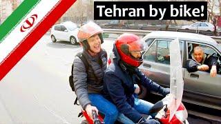 Fun in Tehran via Motorbike! | Iran 🇮🇷