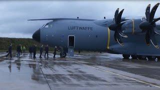 Ankunft des ersten A400M in Deutschland - Bundeswehr