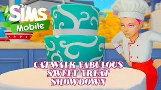 Catwalk Fabulous Sweet Treat Showdown Event and Quest Walkthrough | The Sims Mobile | iOS