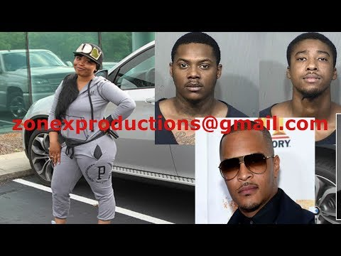 BREAKING NEWS 2 suspects ARRESTED for Robbing Tiny best friend Shekinah,claim T.I. sent them!