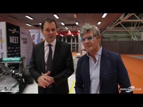 Aldo Costa al Motor Show con Motrosport.com