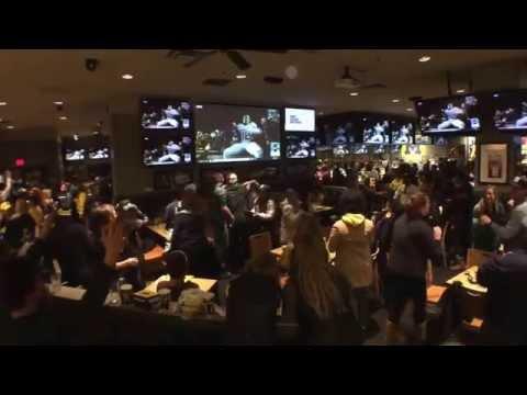 U of M-MSU Live Fan Reactions in Ann Arbor, Michigan, 10/17/2015, #MSUvsMICH