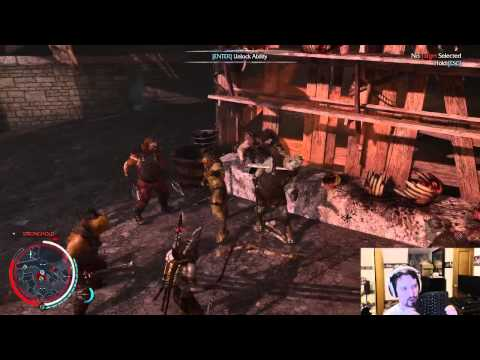 The combat in Middle-earth: Shadow of Mordor is terrible