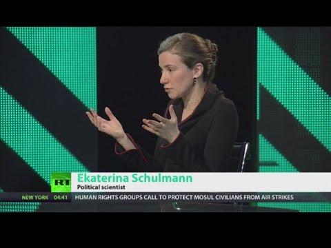 "Ekaterina Schulmann: Two-way street? - ""Russia today"", 30.03.2017"
