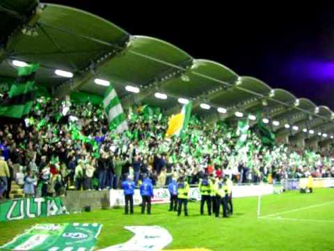 Stadioneröffnung Tallaght Stadium in Dublin.