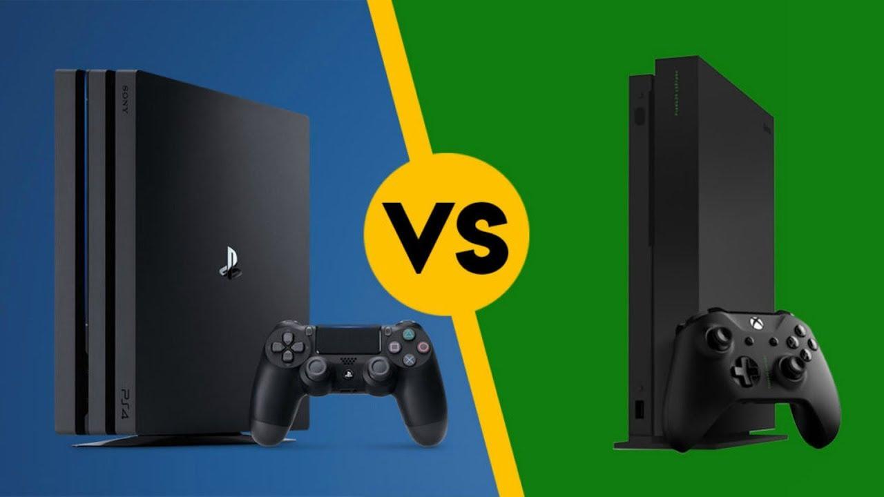 Xbox One X vs PS4 Pro Resolution Comparison Chart MAKES ...