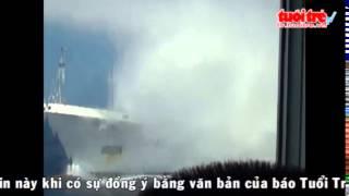 Tàu Trung Quốc tấn công tàu Việt Nam ( China coast Guard attack Viet Nam Ship in Viet Nam EZZ)