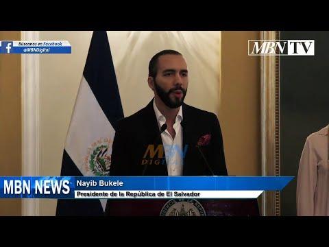 Nayib Bukele Conferencia de Prensa de Última Hora | Convenio con el Reinado de Marruecos