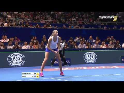 Brown & Pliskova vs Bopanna & Mirza FINAL FULL MATCH HD IPTL Singapore 2015