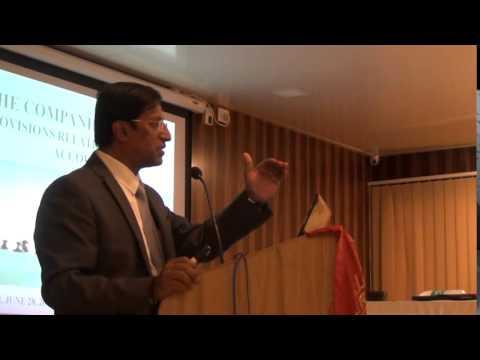 Companies Act 2013 - CA P. R. Ramesh(Part-1)