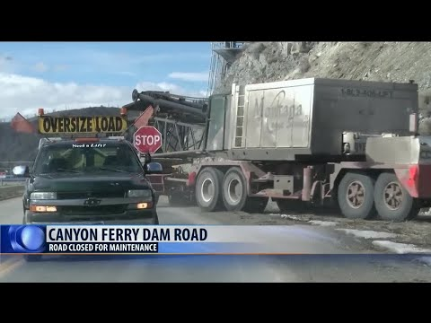 Canyon Ferry Road Closure