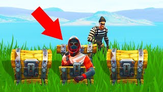 He Will NEVER Find Me Here! (Fortnite Hide And Seek)