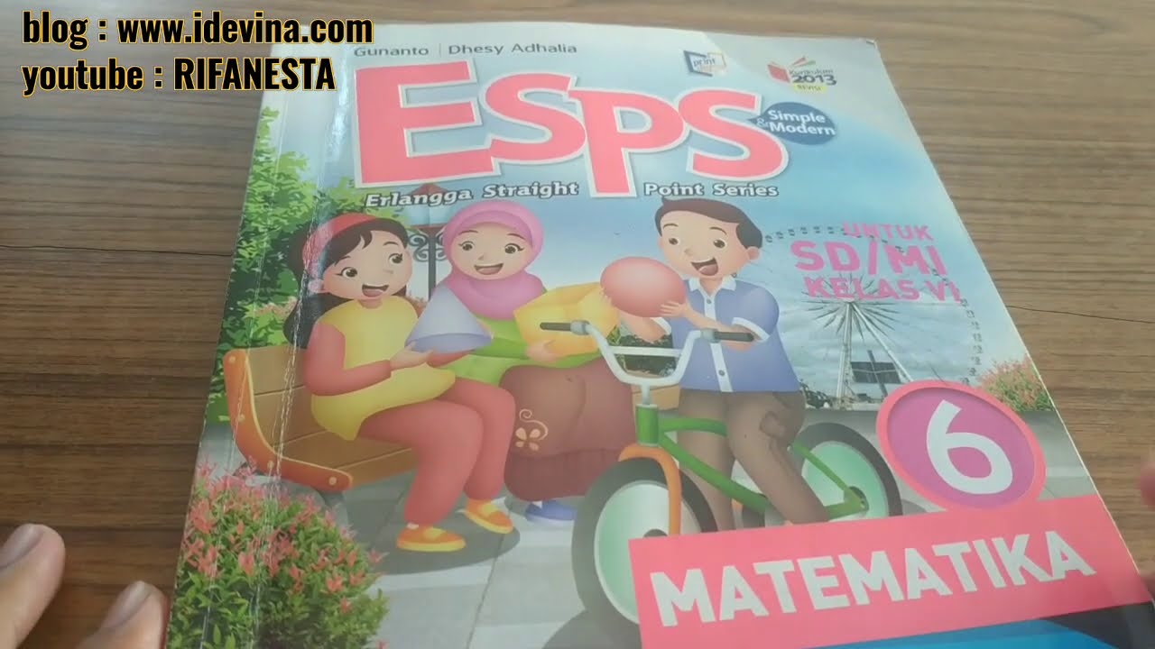 Pembahasan Esps Matematika Kelas 6 Bab 3 Latihan 6 1 5 Halaman 77 Youtube