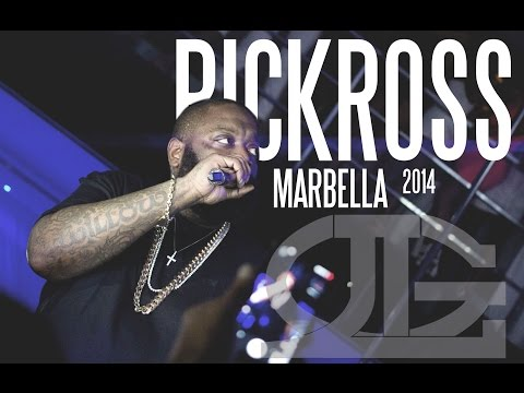 RICKROSS SHOW IN MARBELLA 2014 CAVALLI CLUB