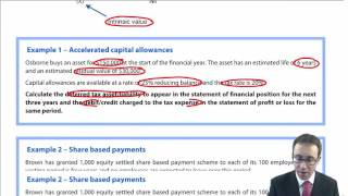 ACCA P2 Deferred tax - Individual company accounts