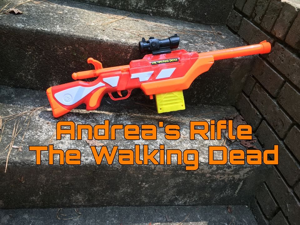 Honest Review Andrea S Rifle From The Walking Dead Youtube