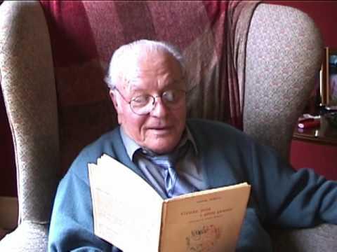 Poet Joseph Tusiani reads Gente Mia in Italian--Th...
