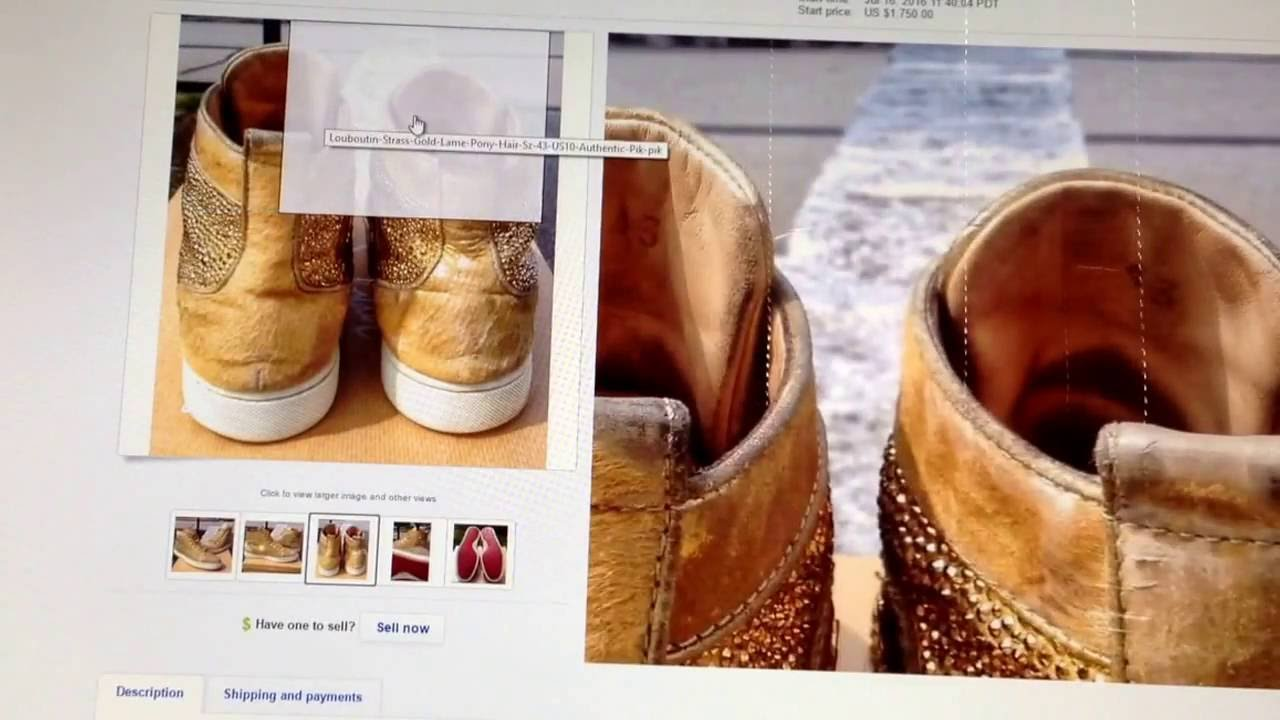 christian louboutin shoes ebay