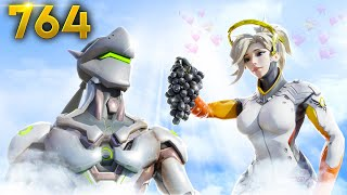 How Genji HEAVEN Looks Like!!   Overwatch Daily Moments Ep.764 (Funny and Random Moments)