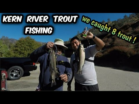Trout Fishing With Dad In The Kern River !