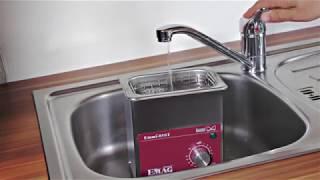Produktvideo zu Ultraschall-Reinigungsgerät Emmi-05ST EMAG