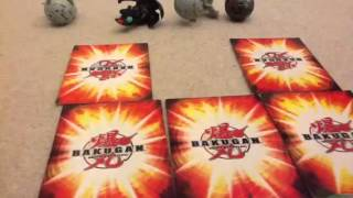 How to play bakugan