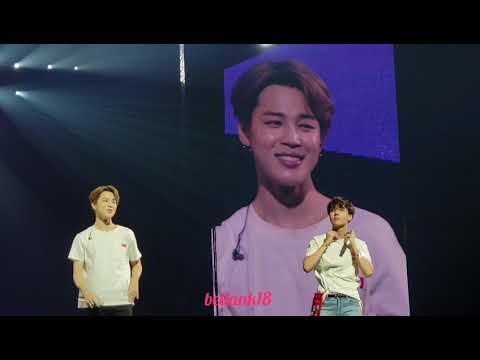 180928 (Ending Ment) - BTS 'Love Yourself' Tour Newark Day 1