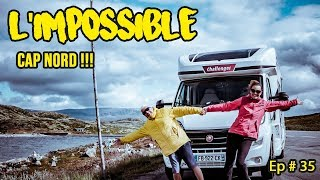 🌍 ON RATE LE CAP NORD ❗️ La NORVÈGE en CAMPING CAR - VAN LIFE