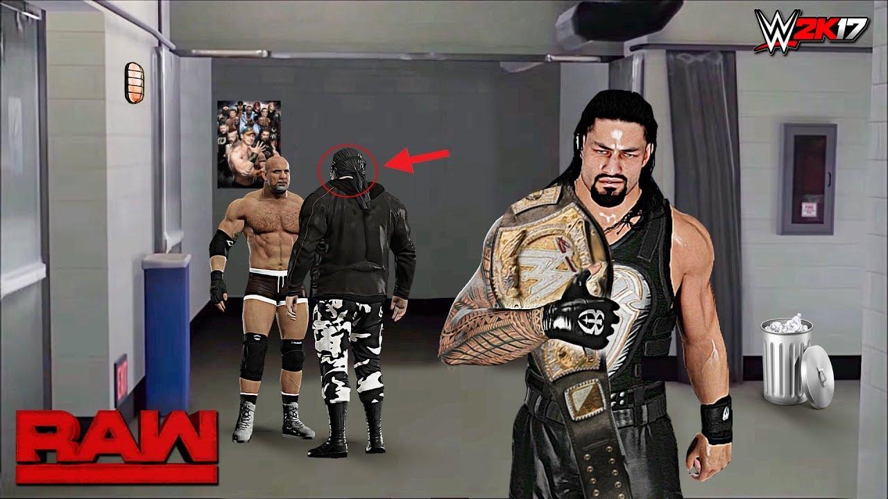 Download WWE 2K17 Custom Story - The Shield Unmasks Masked Man Raw 2017 ft. Lesnar, Goldberg - PART 27