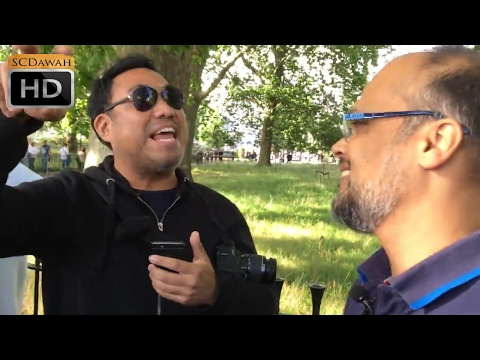 P1 - Crushed Claims! Hashim Vs Christian | Speakers Corner | Hyde Park