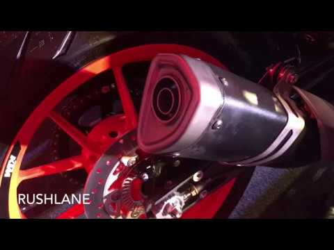 2017 KTM Duke 390 Exhaust, Instrument Cluster - First Look
