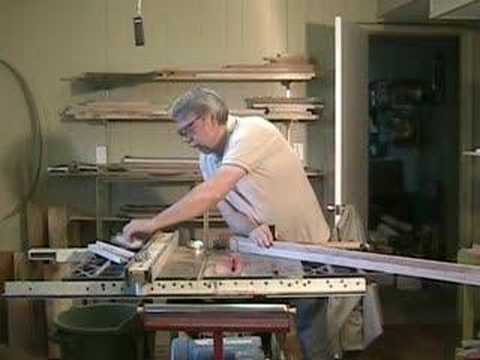 Making Picture Frames On A Table Saw A Woodworkweb Woodworking