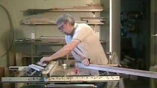 Making Picture Frames On A Table Saw - A Woodworkweb.com Woodworking Video