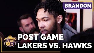 Brandon Ingram On Whether LaVar Ball's Comments Affect The Lakers Locker Room