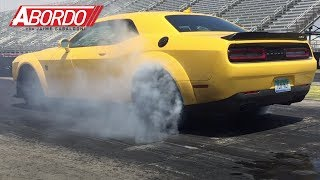 Dodge Challenger SRT Demon 2018 - Motor y secuencia de arranque