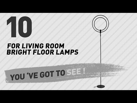For Living Room Bright Floor Lamps // New & Popular 2017