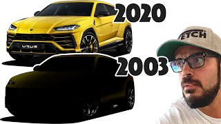 I retro-design the Lamborghini URUS into a 2003 model!