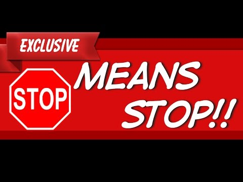 Do I Need To Stop At A Stop Sign | Stop Sign Penalty Fine Jail Time