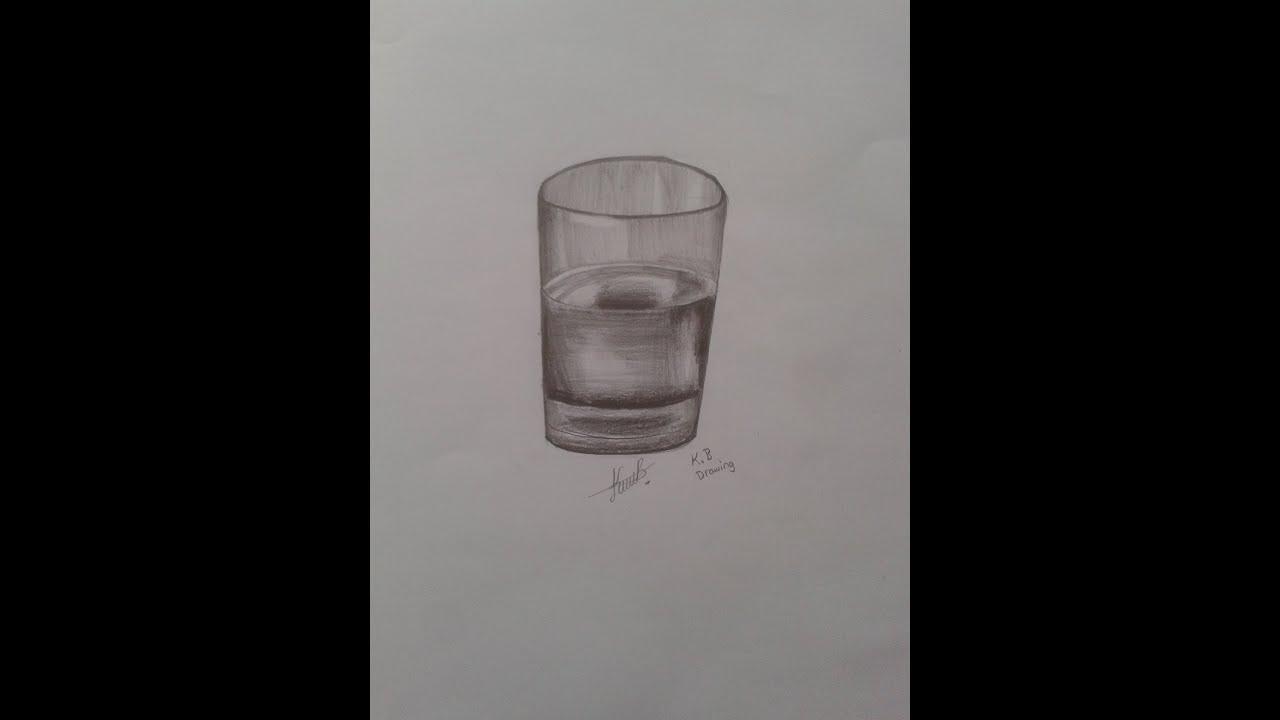 Karakalem Kolay çizimler Vazo 1