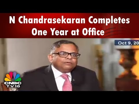 TATA Chairman N Chandrasekaran Completes One Year at Office | CNBC TV18