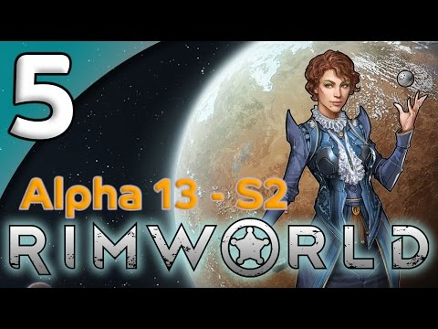 Rimworld Alpha 13 - 5. Boars & Butchering - Let's Play Rimworld Gameplay