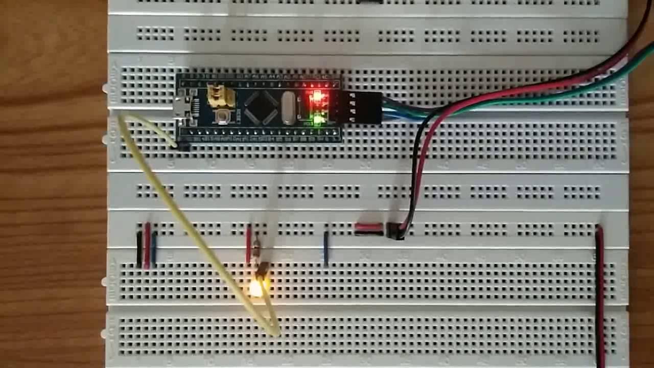 STM32F103C8 Timer Interrupt