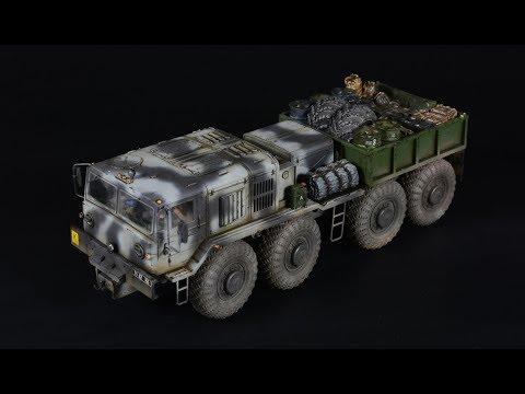 Russian Army Tractor KZKT-537L / MAZ-537 - 1/72 Takom