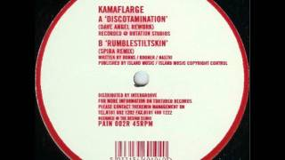 Discotamination(Dave Angel Rework) - Kamaflarge  /  Remixes EP (Tortured Records)