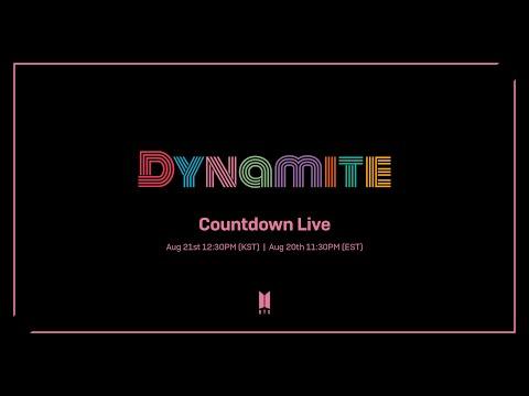 BTS (방탄소년단) 'Dynamite' Countdown Live (+ENG)