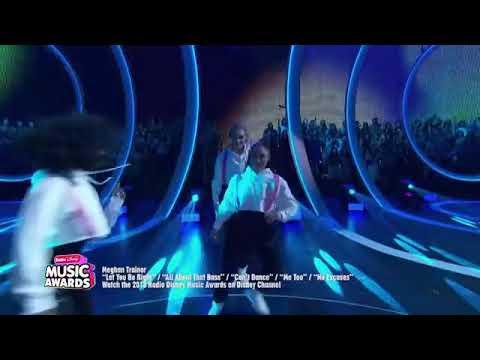 """Meghan Trainor """"No Excuses"""" Radio Disney Music Awards 2018"""